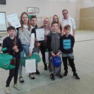 Więcej o: II i III miejsce naszych drużyn w Powiatowych Eliminacjach Ogólnopolskiego Turnieju Bezpieczeństwa w Ruchu Drogowym